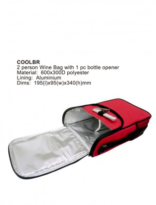 Cooler Bag for 2 bottles of wine